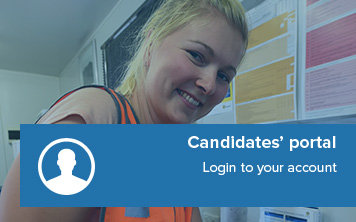 Login to your account on our Candidates Portal