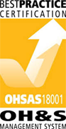 Best Practice Certification - OHSAS 18001