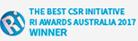 RI Awards Australia 2017 Winner